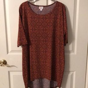 Lularoe Irma fall color slinky material